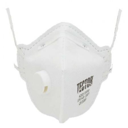 12 Stück - Tector Feinstaub-Faltmaske P2 4203